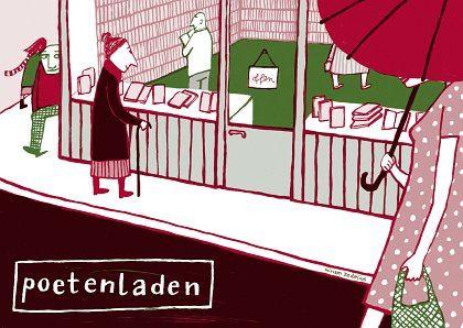 Poetenladen - Postkarte
